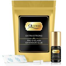 💙Lint Free Eyelash Extension Adhesive Glue, 5ML Extra Strong Eyelash Glue