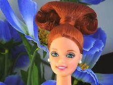 Nude Barbie Doll for OOAK Repaint Titian Midge Mod Custom Hair Redhead Green Eye