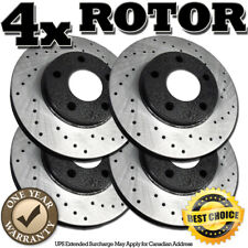 2010 2011 2012 Fit Chrysler 300C 5.7L OE Replacement Rotors w//Ceramic Pads F