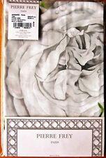 PIERRE FREY One Oxford Pillowcase RONSARD PERLE 50x75cm New