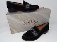 New In Box! Franco Sarto A-Johanna F1948M2001 Women's Loafer Black Velvet 38Q