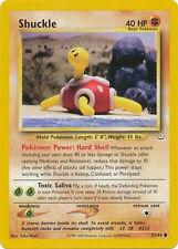 Shuckle Common Unlimited Pokemon Card Neo Revelation 51/64
