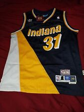 Reggie Miller Indiana Pacers Jersey FloJo Throwback Size EXTRA LARGE XL