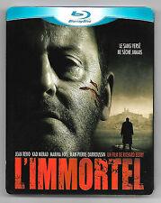 BLU-RAY DISC + DVD / L'IMMORTEL - JEAN RENO,KAD MERAD,J-P DARROUSSIN
