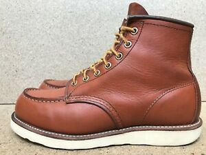 Red Wing Heritage 6'' 875 Oro Legacy Moc Mens Leather Boots 8 E