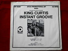 KING CURTIS~ INSTANT GROOVE~ MEGA RARE~ EP SLEEVE ONLY~ PROMO~ RARE ~ SOUL 45