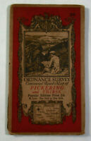 1924 Vintage OS Ordnance Survey One-Inch Popular Edition Map 22 Pickering Thirsk