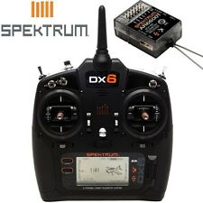 Spektrum Dx6 Transmitter With Ar6600t RX SPM6755