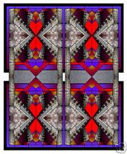 Window Cling Art - RATTLESNAKE MOSAIC