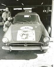 Vintage 8 X 10 Auto Racing Photo 1966 Daytona 24 Hours Sunbeam Tiger