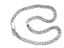 Plus Size Anklet bracelet 925 Sterling Silver Very Solid chain  XL anklets