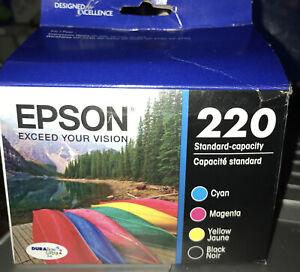 Epson Genuine 220 Dura Brite ultra Inc. Please Read Entire Ad  !
