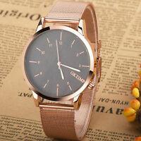Fashion Metal Business Men's Watch Analog Quartz Luxury Stainless Steel Watches