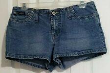 Women's Squeeze Stephen Hardy Denim Shorts Sz 9/10 Blue Jean Stretch Junior  S41