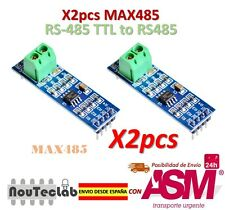 2pcs MAX485 Module RS-485 TTL to RS485 MAX485CSA Converter Module for Arduino