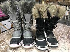 Sorel Women's Joan of Arctic Winter Boots Black Stone / Quarry