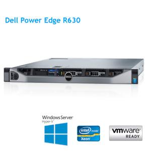 Dell PowerEdge R630 2x E5-2680 V4 2.40GHz 14 Core 256GB RAM H730P Mini 2GB