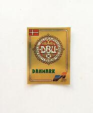 Panini Euro 84 EM 1984 Denmark Badge Number 61 Whith Original Back