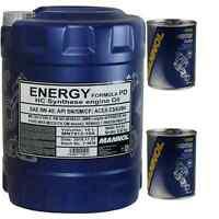 10L MANNOL Motoröl Energy Formula PD 5W-40 Motorspülung Motor Flush
