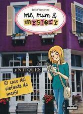El Caso del Elefante de Marfil (Me, Mum & Mystery 3) (Spanish Edition)-ExLibrary