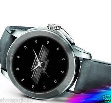 Chevy Deception Transformer Logo Sport Leather Watch
