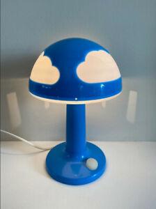 IKEA SKOJIG Wolke Tischleuchte blau