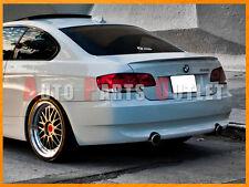 BMW 2007-2013 E92 328i 335i Coupe P-Type Trunk Spoiler Wing - #300 Alpine White