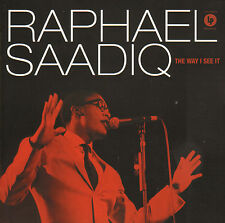 RAPHAEL SAADIQ ‎– THE WAY I SEE IT (2008 SOUL CD)