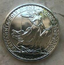 2013 Great Britain Britannia 1 Oz Fine Silver Round