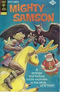 Mighty Samson #30 (Gold Key, 1975) VG/FN