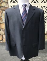 Ermenegildo Zegna Men's Sports Coat TROFEO AMALFI Style Blue Textured 46 R