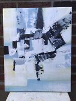 "Abstract Genuine Oil Painting 16"" x 20"" On Stretched Canvas #4"