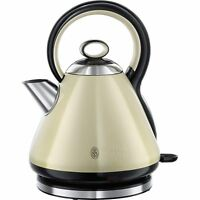 Russell Hobbs 21888 Legacy Quiet Boil Electric Jug Kettle - 1.7 L, 3000W - Cream
