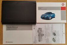 GENUINE VAUXHALL TIGRA OWNERS MANUAL HANDBOOK WALLET 2004-2009 PACK B-539