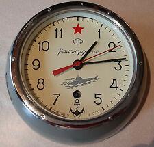 RUSSIAN USSR SOVIET SUBMARINE VOSTOK CHRISTOPOL NAVY MARINE SHIP WALL CLOCK