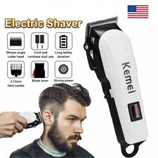 Pro Hair Clippers Trimmer Kit Hair Cutting Machine Cordless Barber Salon Men US