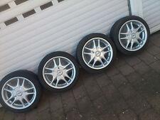 4 Alu Felgen Rondell 7J15 ET35 mit 195/45R15 Reifen VW Opel BMW Renault usw.