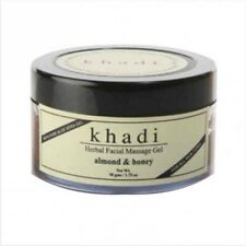 Ayurveda Khadi Natural Almond & Honey Facial Massage Gel 50gm Each Free Shipping