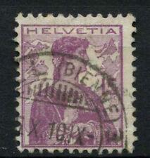 Switzerland 1909 SG#252, 15c Mauve Used #A69922