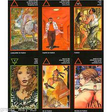 Milo Manara Tarot ENGLISH Fortune New Sealed MINI Size 79 Cards Deck FREE TRACK