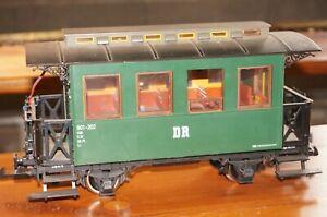 Rfe ] LGB 38074 Dr Passenger 901 - 202 Kbi G Scale Metal Wheels Innenbel. O.o VP