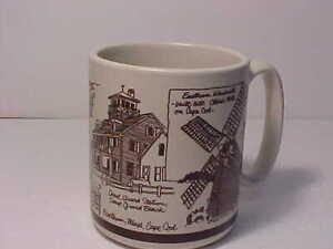 Eastham Nauset Cape Cod Mug 1982 Quahog Hollow