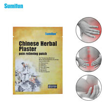 40Pcs Chinese Herbal Pain Reliving Patch Back Neck Muscle Pain Plaster D0647