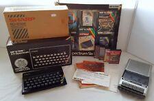In scatola SINCLAIR ZX SPECTRUM 48k con giochi, manuale e registratore + PSU-GRATIS
