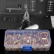 300Pcs M3 Brass Hex Column Standoff Support Spacer Screw Nut Assortment Kit Z3P4