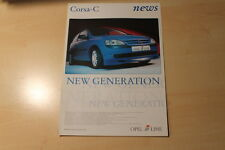 02070) Opel Corsa C Irmscher iLine Prospekt 2001