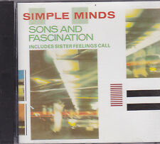Simple Minds-Sons And Fascination cd album