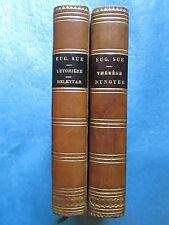 Eugène SÜE : MARQUIS DE LETORIERE / DELEYTAR / ARABIAN GODOLPHIN, 1846. 2 vol.