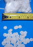 """25+ REAL DRIED TINY SAND DOLLARS SEA SHELLS CRAFTS DECOR 1/8"""" TO 1/2"""""""