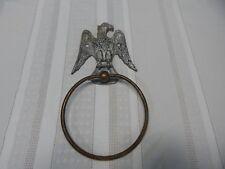 Vintage! Brass/AluminiumTowel Eagle Hook